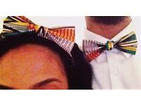 Kente print (African) Bow Ties