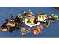 Disney Infinity game and 15 figures