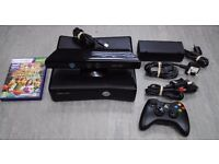 Xbox 360 Slim 4GB with Xbox Kinect £65