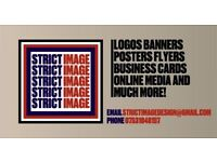 Strict Image - Your Local Graphic Designer! Bespoke Logos, Banners, Websites, Flyers, And More!