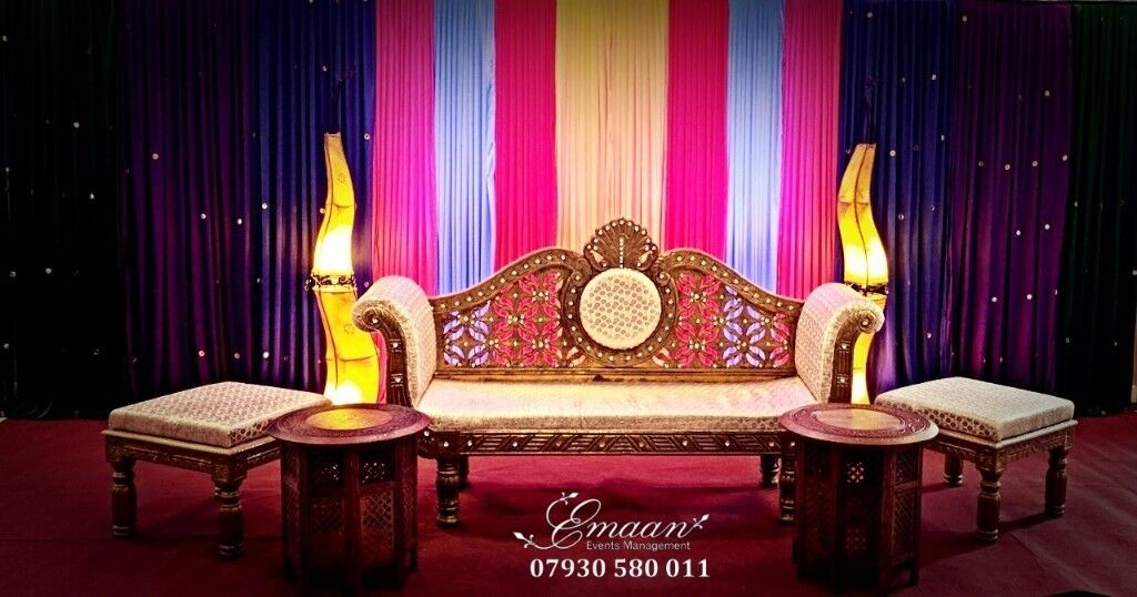 Wedding stage wedding decoration mehndi stage halal catering in wedding stage wedding decoration mehndi stage halal catering in london gumtree junglespirit Image collections