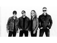 Metallica 2 x Tickets Glasgow 26 Oct 2017