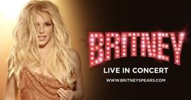 Awesome Seats - Britney Spears Tickets on the Amazon Deck Sat 25th at the O2!