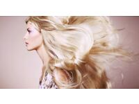 100% Remy Human Hair Extensions in the comfort of your home.
