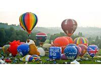 Bristol Air Balloon Fiesta PREMIUM parking