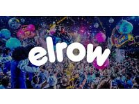 ELROW @ Olympic Park Saturday 19th August