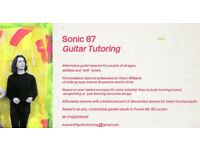 Sonic 87 Alternative Guitar Tuition (Member of Joanna Gruesome), Affordable, Personalised Lessons
