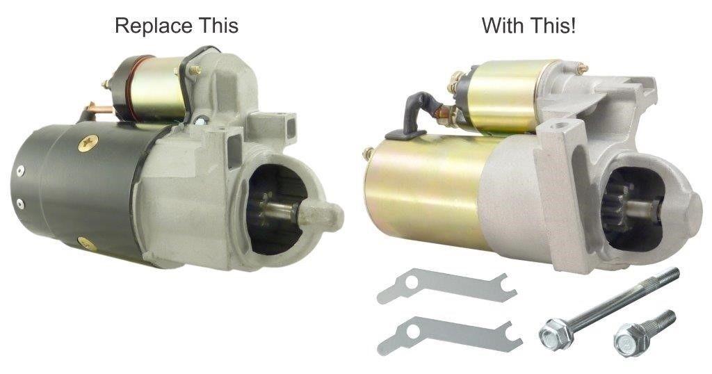 New Gear Reduction Marine Starter Mercruiser Stern Drive 120 140 165 185 200