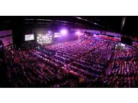 PREMIER LEAGUE DARTS TICKETS CARDIFF FEBRUARY 8TH FRONT TABLE SEATS X 4