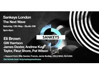 STUDIO 338 CLUB - SANKEYS DANCE EVENT 2 TICKETS!