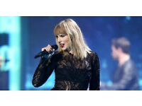 Taylor Swift, 2 tickets, Reputation tour this Friday 22nd June at Wembley