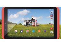 """Hudl 2 Red 8.3"""" Full HD Tablet."""