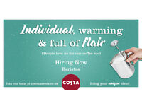 Barista's required