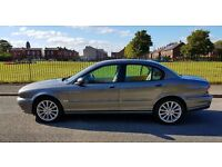 JAGUAR X-Type 2.0 D S , IMMACULATE CONDITION, FSH, LEATHER INTERIOR, LONG MOT