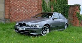 2002 BMW 530i M Sport Immaculate Condition Only 95k Sterling Grey Auto
