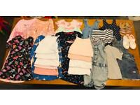 Girls 2-3 years & 18-24 months bundle clothes & shoes