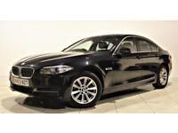 BMW 5 SERIES 2.0 520D SE 4d AUTO 181 BHP (black) 2013