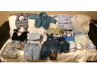 baby clothes bundle 0-6 m