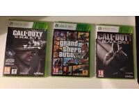Grand Theft Auto 5, Call of Duty Ghosts and Call of Duty Black Ops 2 Bundle Xbox 360