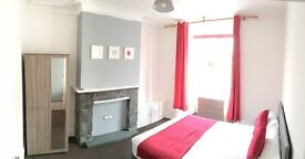 New refurbished Fully furnished spacious double bedroom !!!