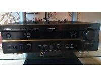 YAMAHA surround sound receiver (Rx-v620 RDS)