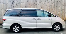 2003 Toyota Estima 8 Seater 2.4 Automatic Biogas/Petrol, HPI Clear, 1 Year MOT, Excellent Drive