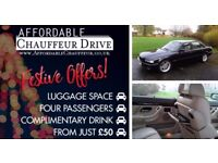 Affordable Chauffeur Drive - Festive Offers - From £50.