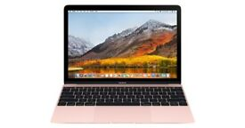 Sealed brand new rose gold 2017 apple mac macbook laptop