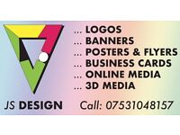 2D+3D Graphic Designer Available - flyers, business cards, logo etc. Call for a quote now!
