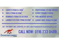THE FLOOR COVERINGS SPECIALISTS!