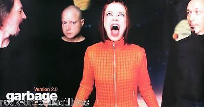 Garbage 1998 Garbage 2.0 Original Promo Poster