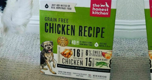 New The Honest Kitchen Grain-Free Chicken Dehydrated Dog Food 10LB Free Ship