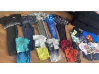 Large Boys Bundle Age (8-9) 10 Sets & Tshirts ,Joggies, Shorts & pjs