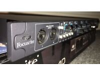 Focusrite Saffire Pro 40 FireWire/Thunderbolt Audio Interface (SOLD)