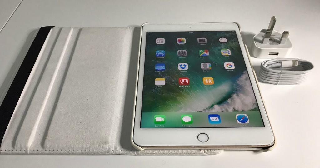 IPad mini 4 64GB Gold Wifi only! Working perfectin North Finchley, LondonGumtree - IPad mini 4 64GB Gold Wifi only!Working perfect! And very fast with highest resolution!Hasnt any scratch on LCD, back has surface scratch! Around frame on corners has scratch and bruised! You can see all pics!Comes with charger, leader 360 degree...