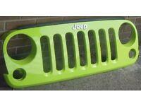Jeep Wrangler JK Original Front Grille Hyper Green