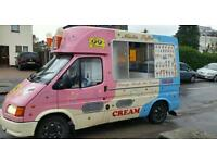 Ice cream van hire for fetes and events