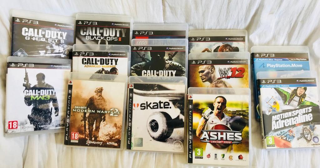PS3 games for sale 3 gbp each all working