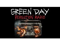 1x Green Day tickets at o2 Arena London 8/2/17