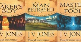 J.V. Jones - Book of words trilogy (3 books)