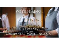 Waiting staff for busy catering company - based in Leeds