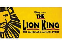 The Lion King (sat 22nd oct 7.30pm)