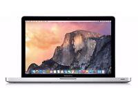 Apple Macbook Pro 8gb ram core i5 2012
