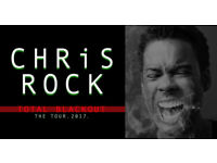 2 x Chris Rock 'Total Blackout Tour' Tickets Seated Together @ The O2 Sat 27th Jan, 2018