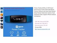Fitness Tracker, Smart band Activity Tracker Work With Blood Pressure Measure