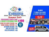 BLUEPRINT & DESIGNZ - WEBSITE DESIGN SALE - From £199