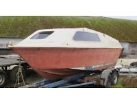 FAST FISHING BOAT 20FT KINGFISHER MK 2, BOAT ONLY PROJECT