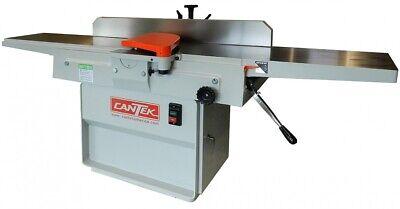 Cantek 12 Jointer W Spiral Insert Cutterhead J-127lh 3ph