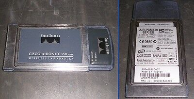 Cisco AIR-PCM352 Aironet 350 2.4GHz 11 Mbps Wireless LAN PCMCIA PC Card
