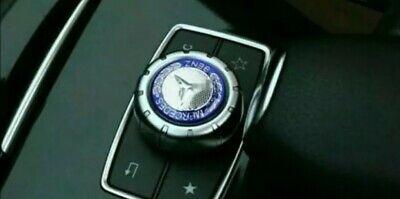 Mercedes-Benz Logo/EmblemController Mittelkonsole Lenkrad Aufkleber 29mm.